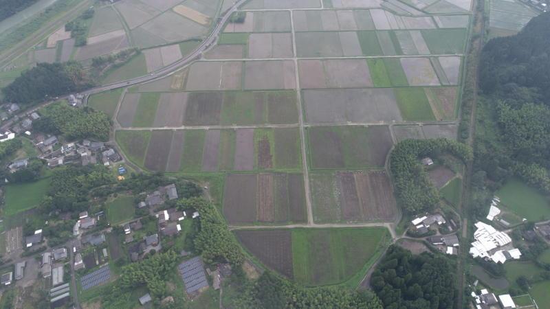 県営農地耕作条件改善事業吉松①地区1-1工区