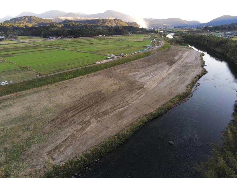 鶴丸地区河道掘削工事