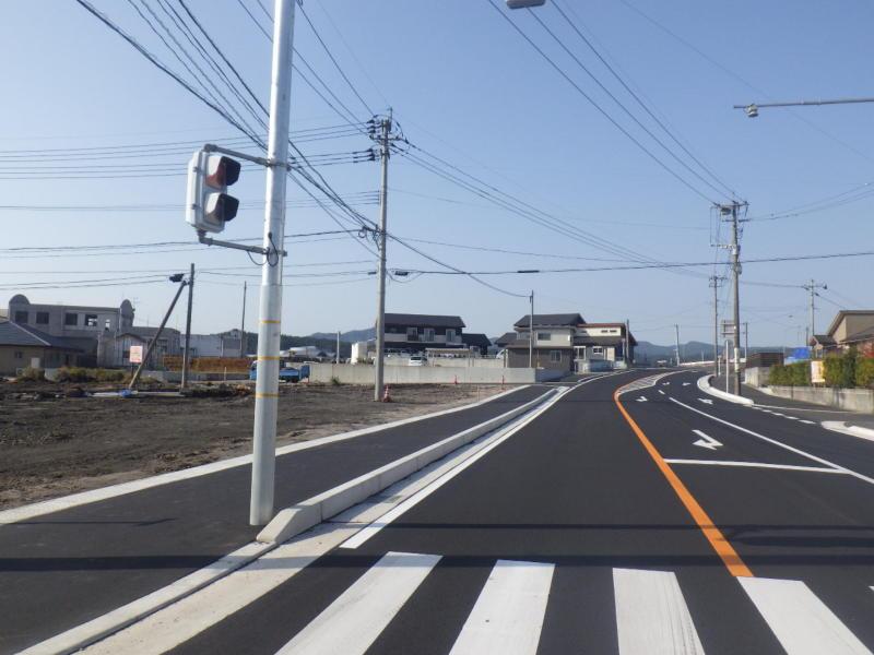 下場土地区画整理事業道路整備工事国道268号外